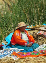 Puno Peru , market