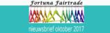 Fortuna Fairtrade nieuwsbrief oktober 2017