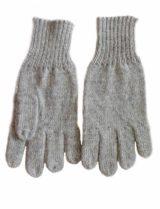 Handschoenen grijs. alpaca