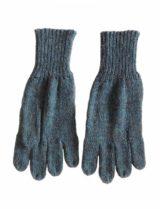 Handschoenen jeans blauw. alpaca