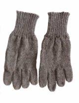 Handschoenen taupe. alpaca