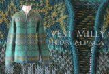 Fortuna-Fairtrade vest Milly heerlijk warm in 100% alpaca