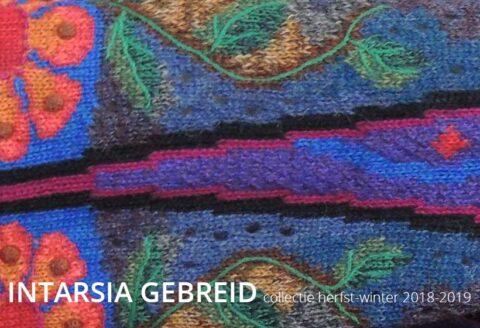 Intarsia gebreide kunstwerkjes in alpaca, dames vesten truien en poncho's